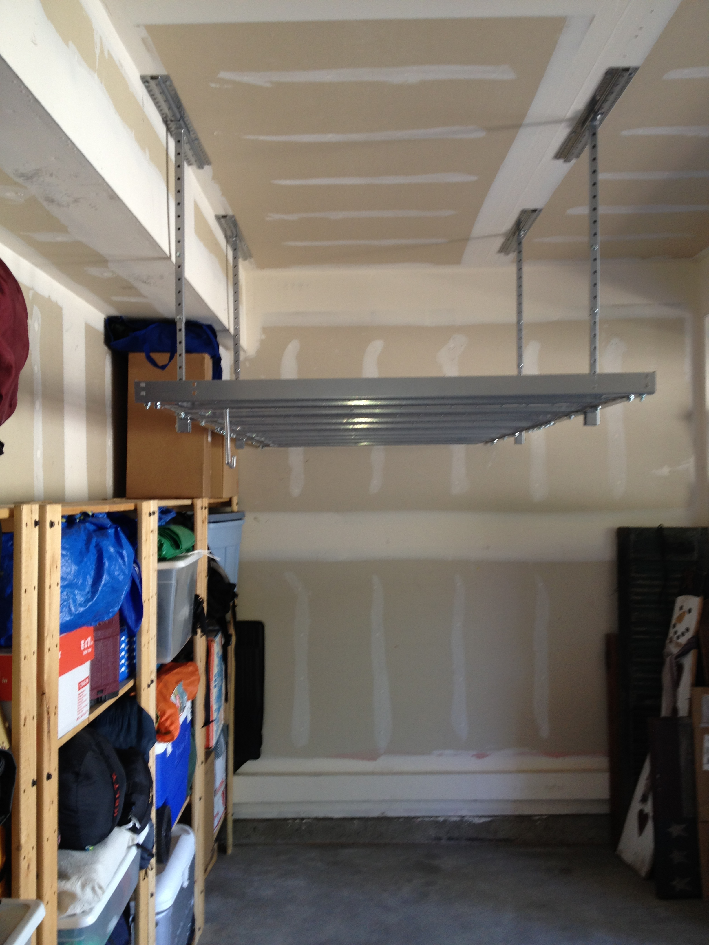 Garage Overhead Storage Denver Gray
